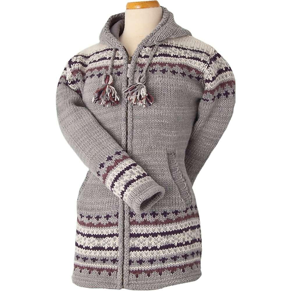 Laundromat Women's Elizabeth Fleece Lined Sweater - Small - Ash Grey
