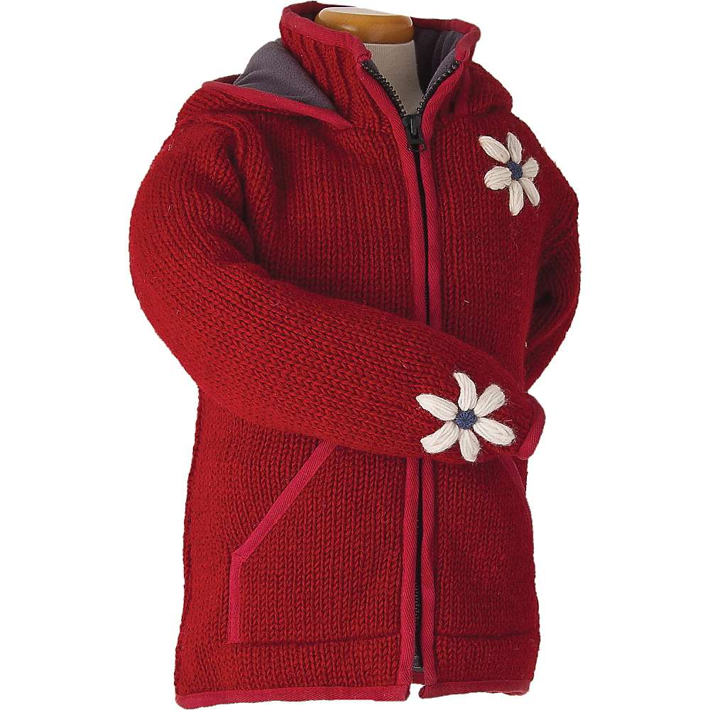 Laundromat Kids' June Fleece Lined Sweater - Small - Fire Red