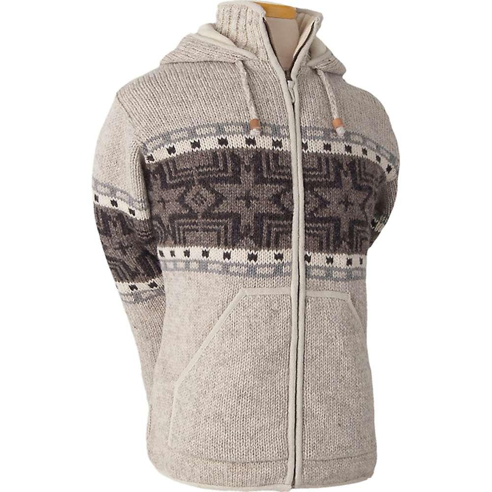Laundromat Men's Norden Fleece Lined Sweater - XXL - Light Natural