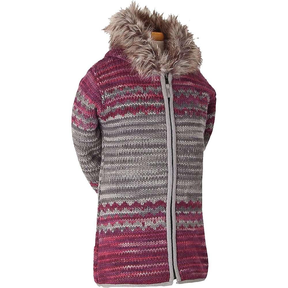 Laundromat Kids' Sophie Fleece Lined Sweater - Medium - Raspberry