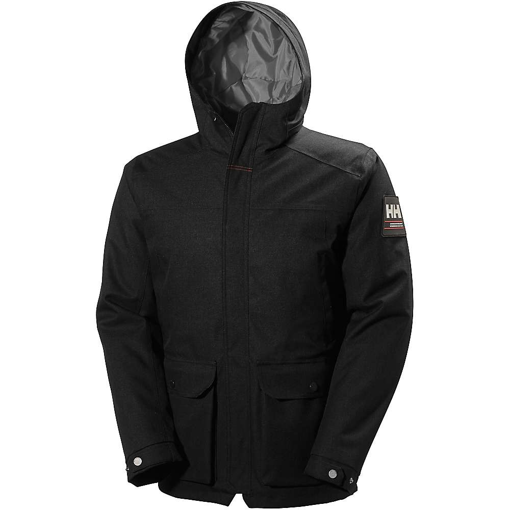 Helly Hansen Men's Brage Parka - Medium - Black