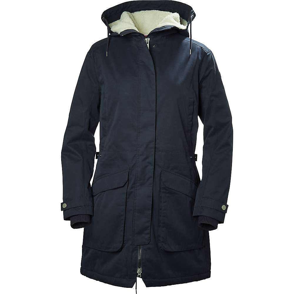 Helly Hansen Women's Kara Parka - Medium - Graphite Blue
