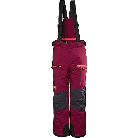 Helly Hansen Juniors' Powder Pant Plum Helly Hansen Juniors' Powder Pant - Plum - in stock now. FEATURES of the Helly Hansen Juniors' Powder Pant Reflective elements for visibility and safety Adjustable waist Adjustable suspenders Detachable suspenders Water resistant