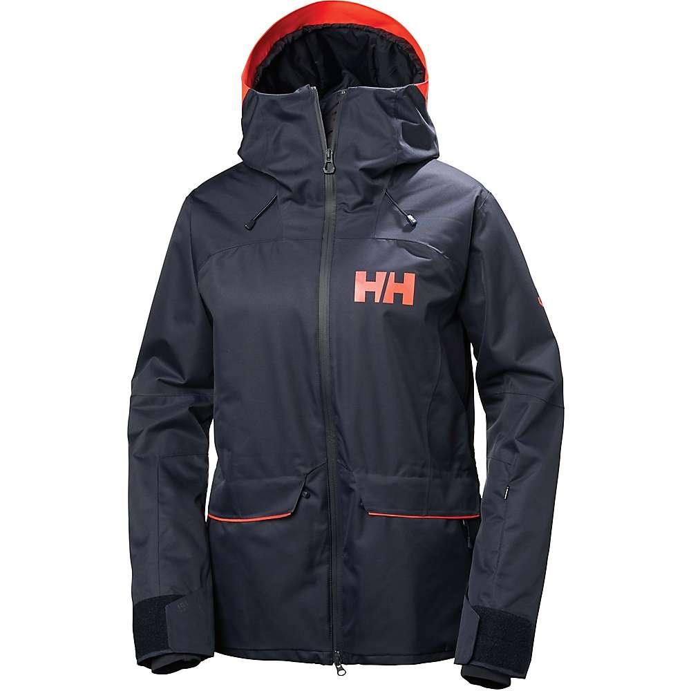 Helly Hansen Women's Powderqueen Jacket - Large - Graphite Blue