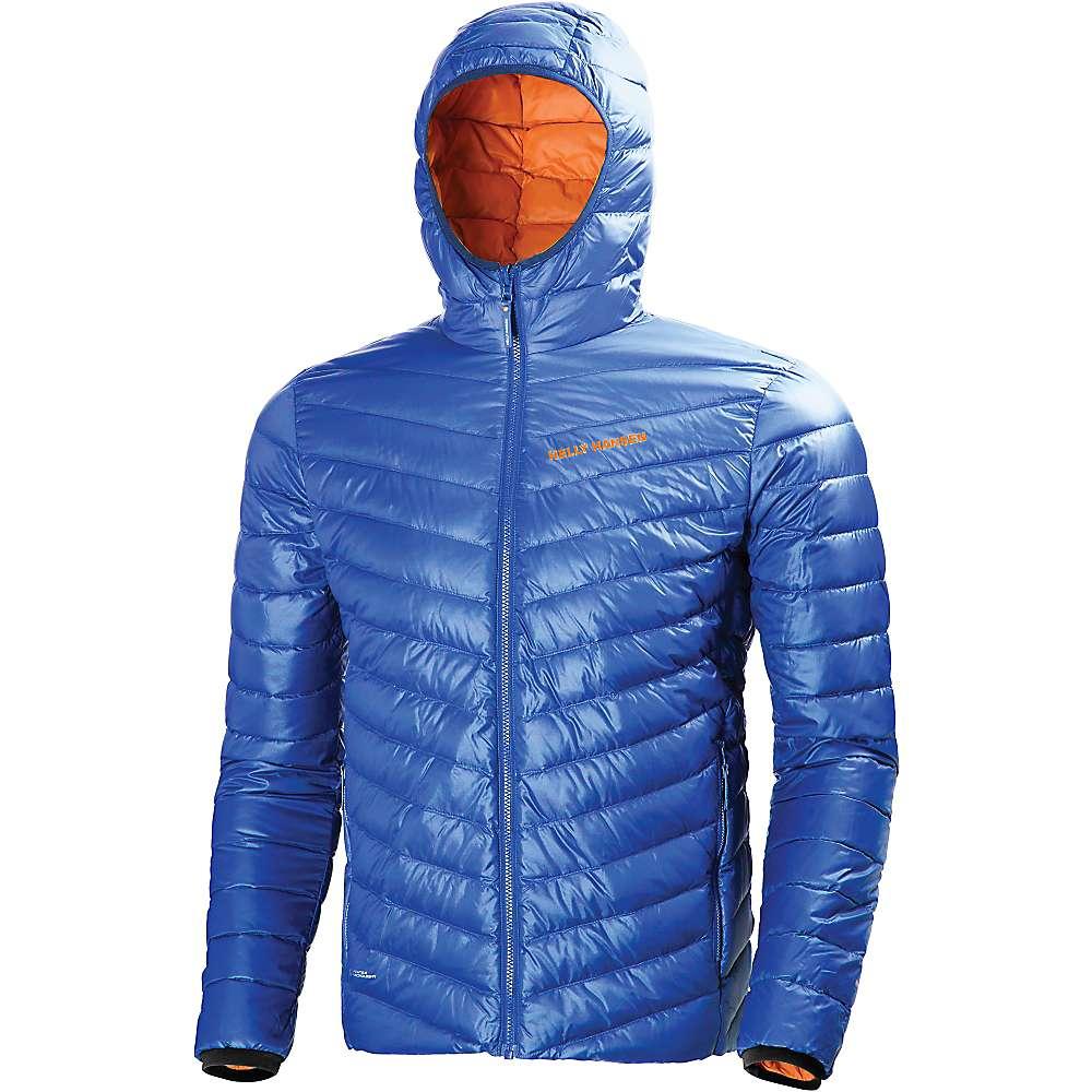 Helly Hansen Men's Verglas Hooded Down Insulator Jacket - Small - Classic Blue