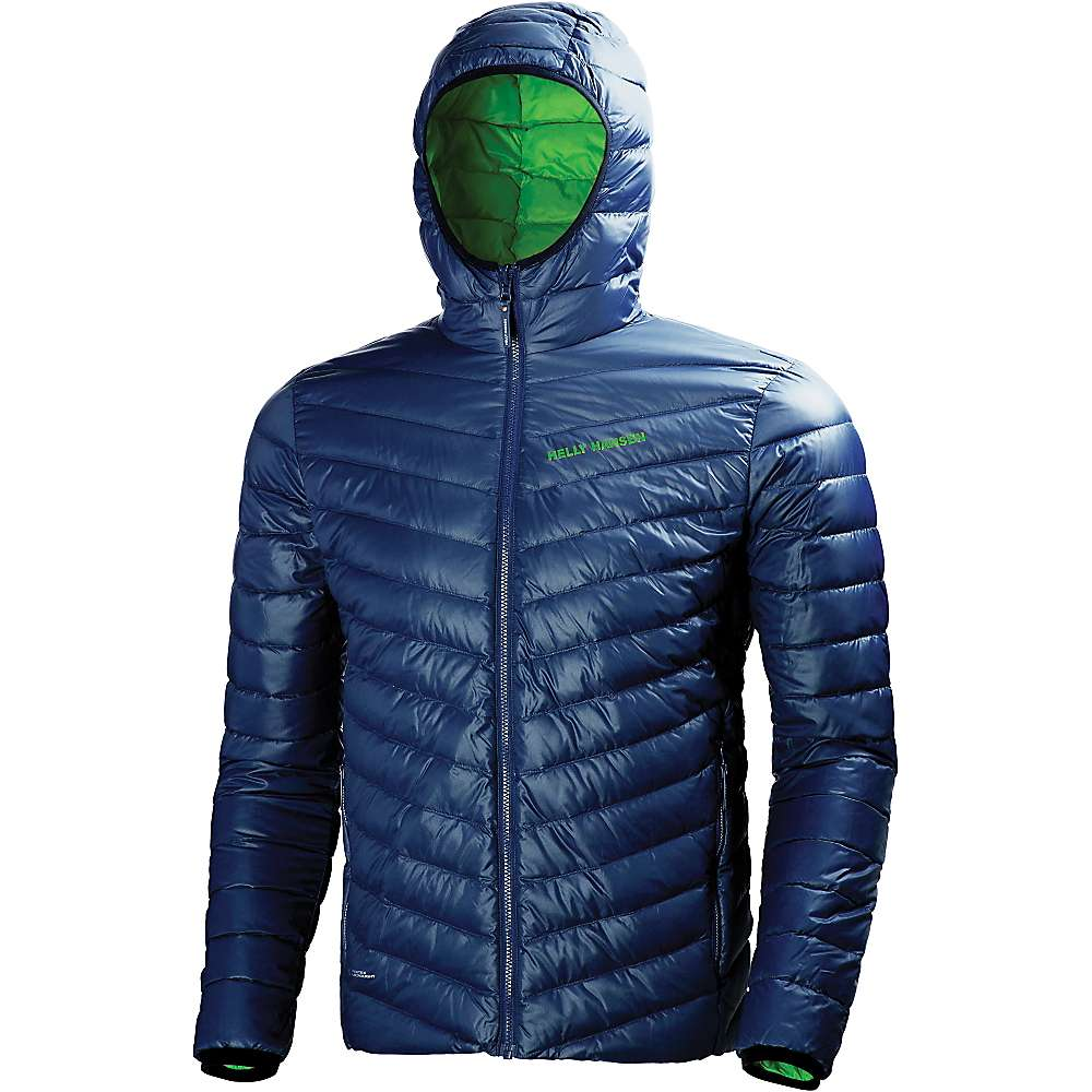 Helly Hansen Men's Verglas Hooded Down Insulator Jacket - Medium - Evening Blue