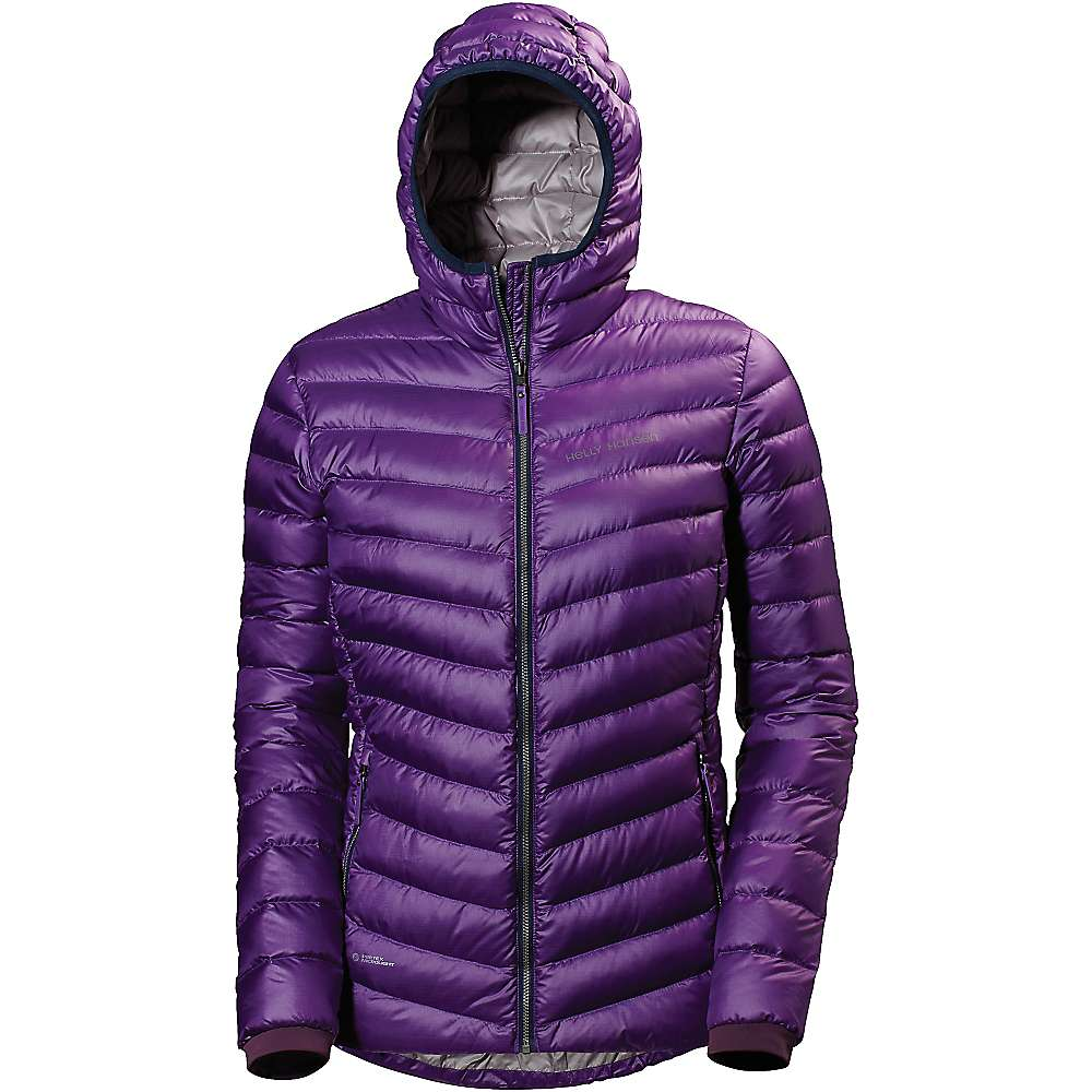 Helly Hansen Women's Verglas Down Insulator Hoodie - Small - Sunburned Purple