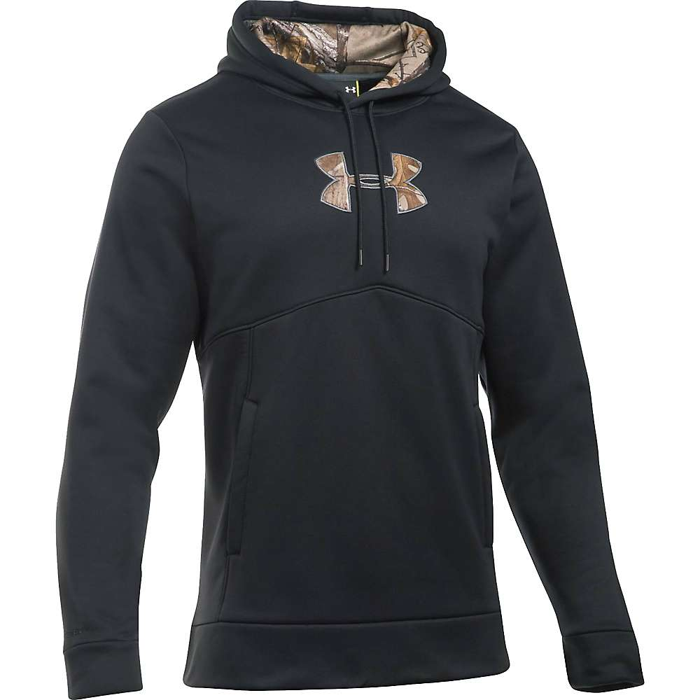Under Armour Men's Icon Caliber Hoodie - XXL Tall - Black / Realtree Ap-Xtra
