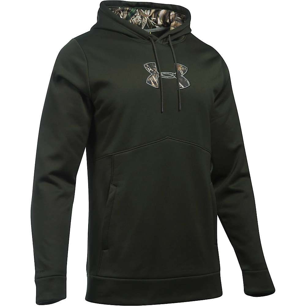 Under Armour Men's Icon Caliber Hoodie - XXL - Artillery Green / Realtree Max 5