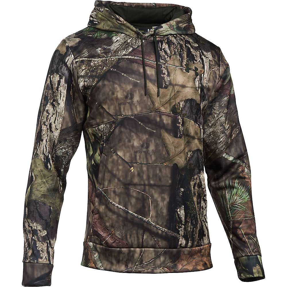 Under Armour Men's Icon Camo Hoodie - XXL - Mossy Oak Break Up C / Artillery Green