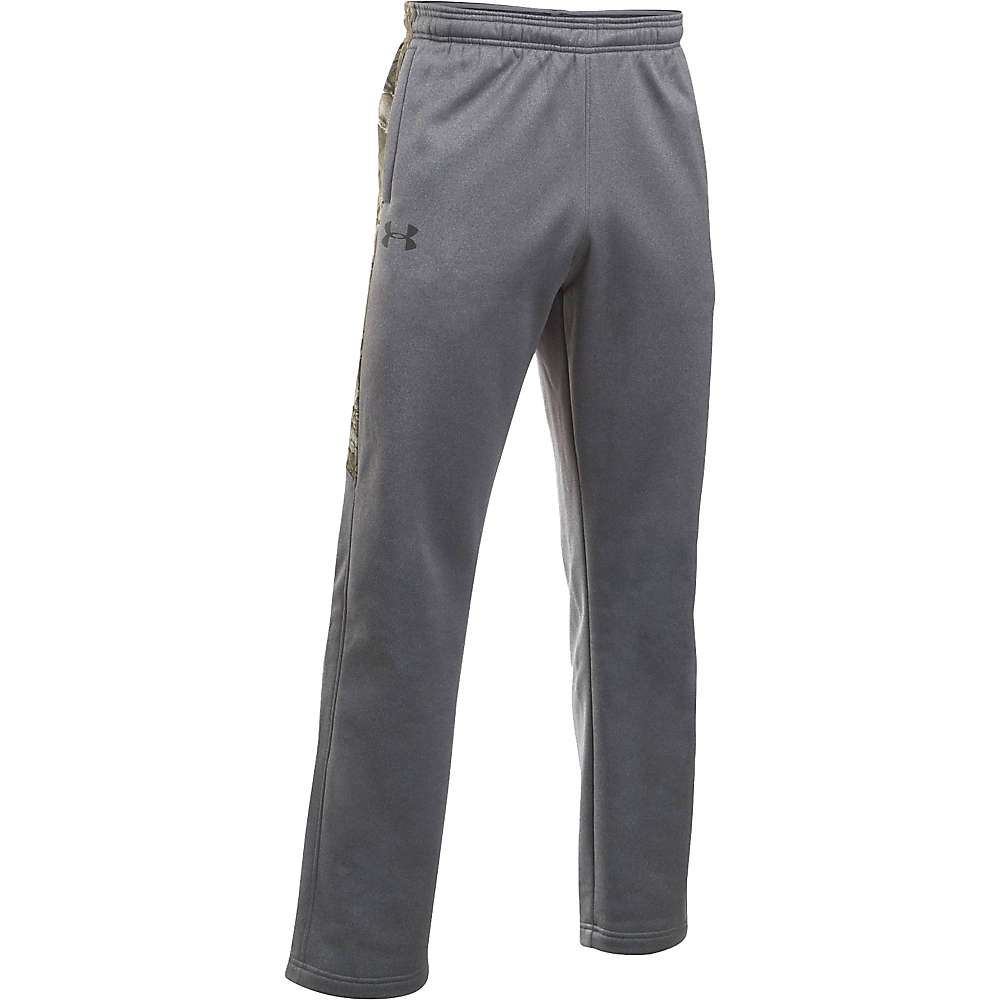 Under Armour Men's Icon Caliber Pant - XL - Carbon Heather / Realtree Xtra / Black