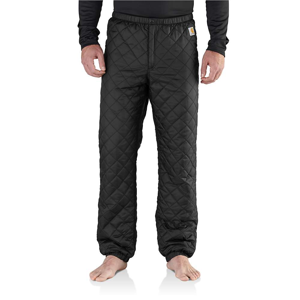 Carhartt Men's Yukon Quilted Base Layer Bottom – 4XL – Black