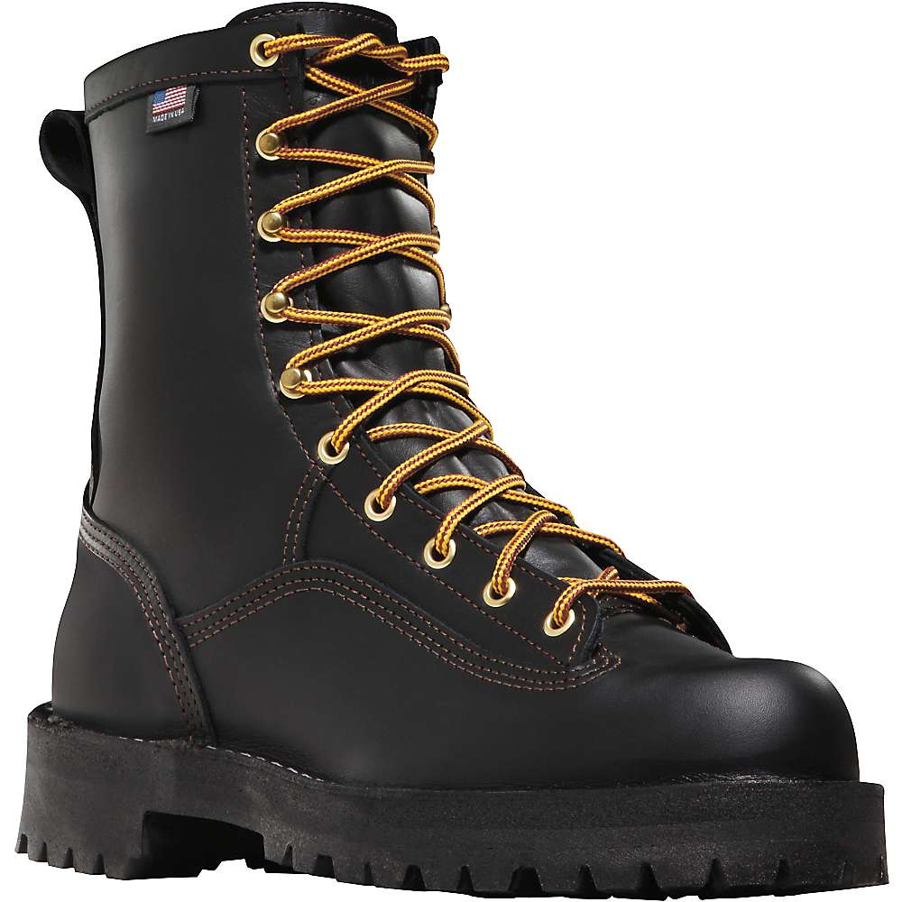 Danner Men's Rain Forest 8IN GTX Boot - 8D - Black