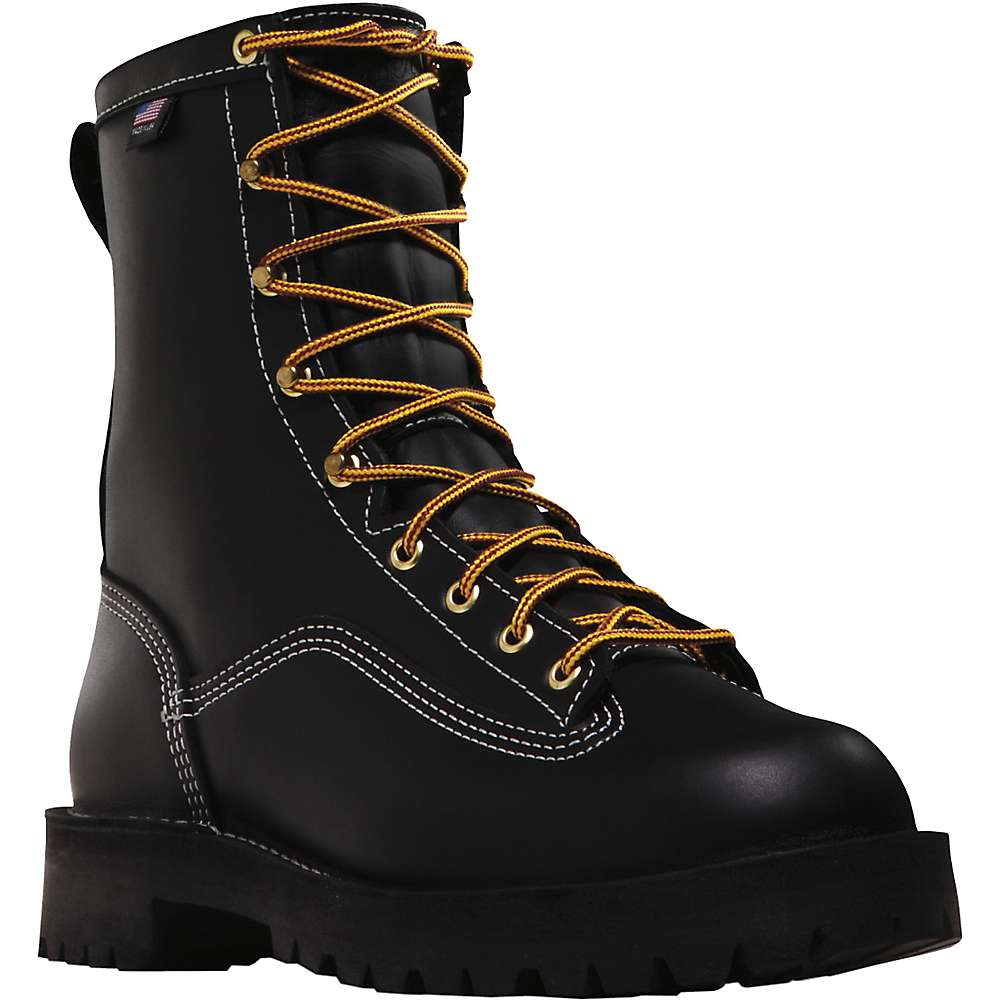Danner Men's Super Rain Forest 8IN GTX Boot - 9EE - Black