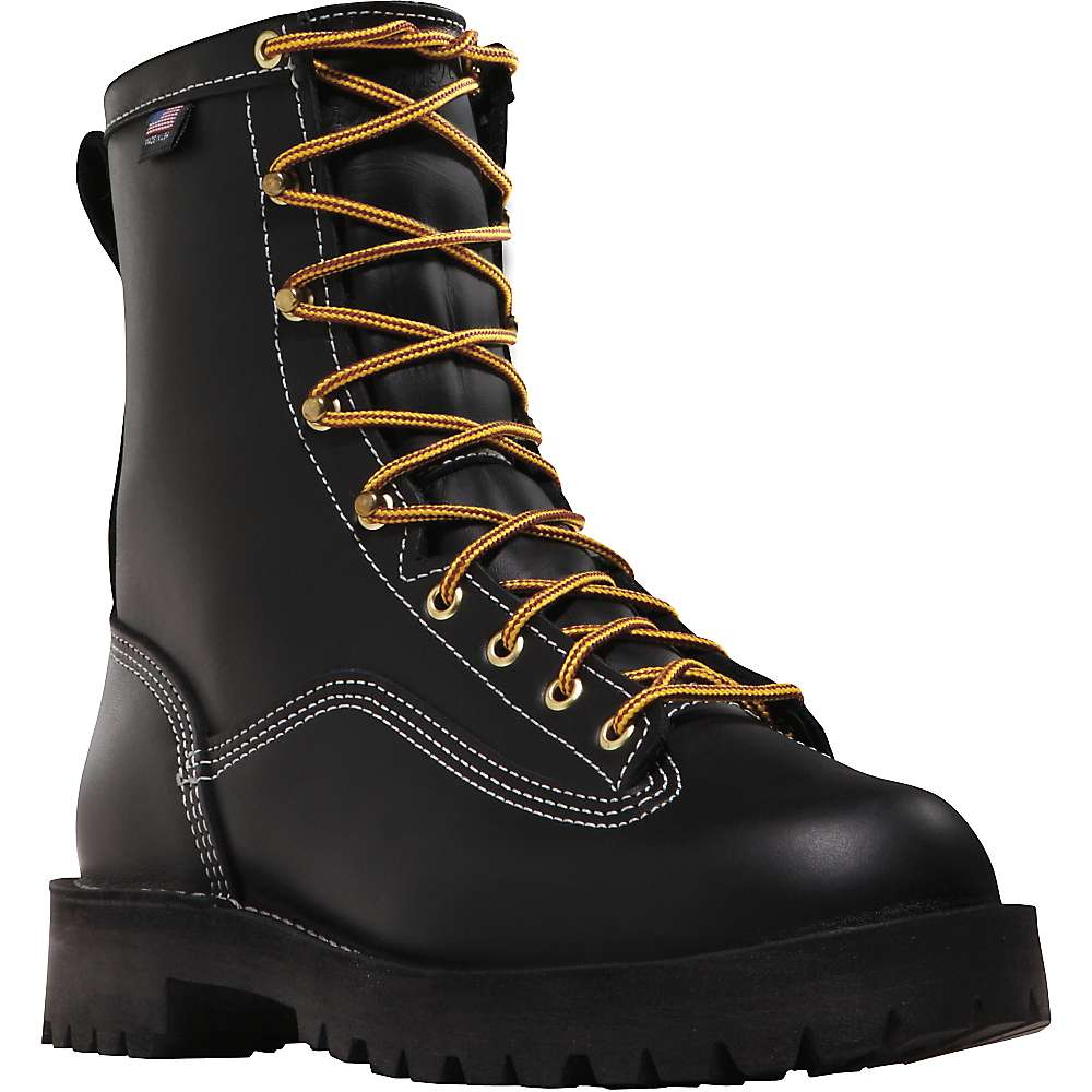 Danner Men's Super Rain Forest 8IN GTX NMT Boot - 11.5EE - Black