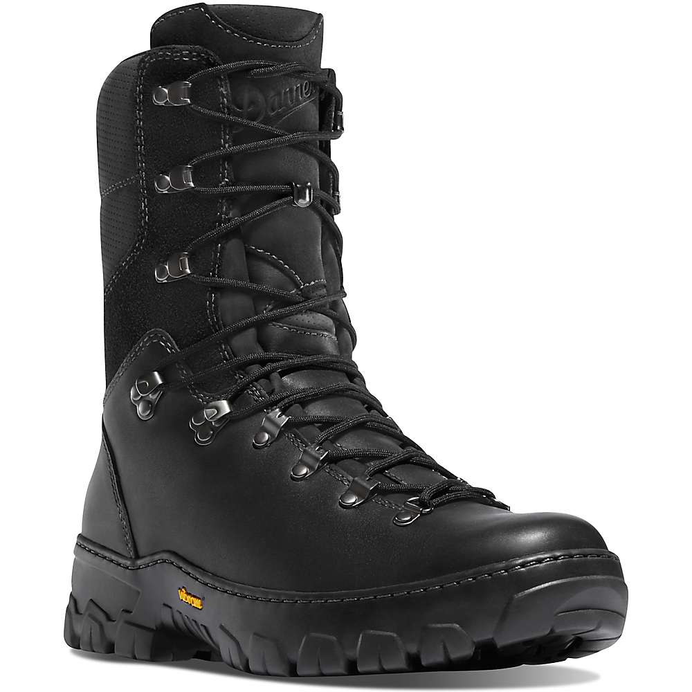 Danner Men's Wildland Tactical Firefighter 8IN Boot - 12B - Black Smooth Out