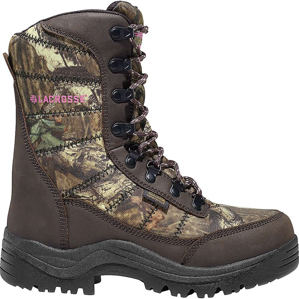 Lacrosse Women's Silencer 8IN 800G Insulated 8IN Boot – 10 – Mossy Oak Break Up Infinity
