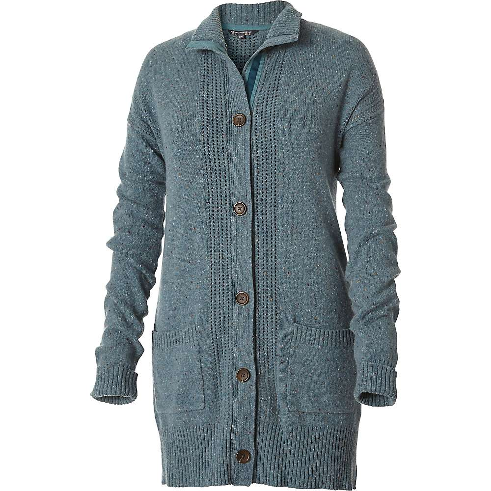 Royal Robbins Women's First Fleet Sweater Coat - Large - Robins Egg
