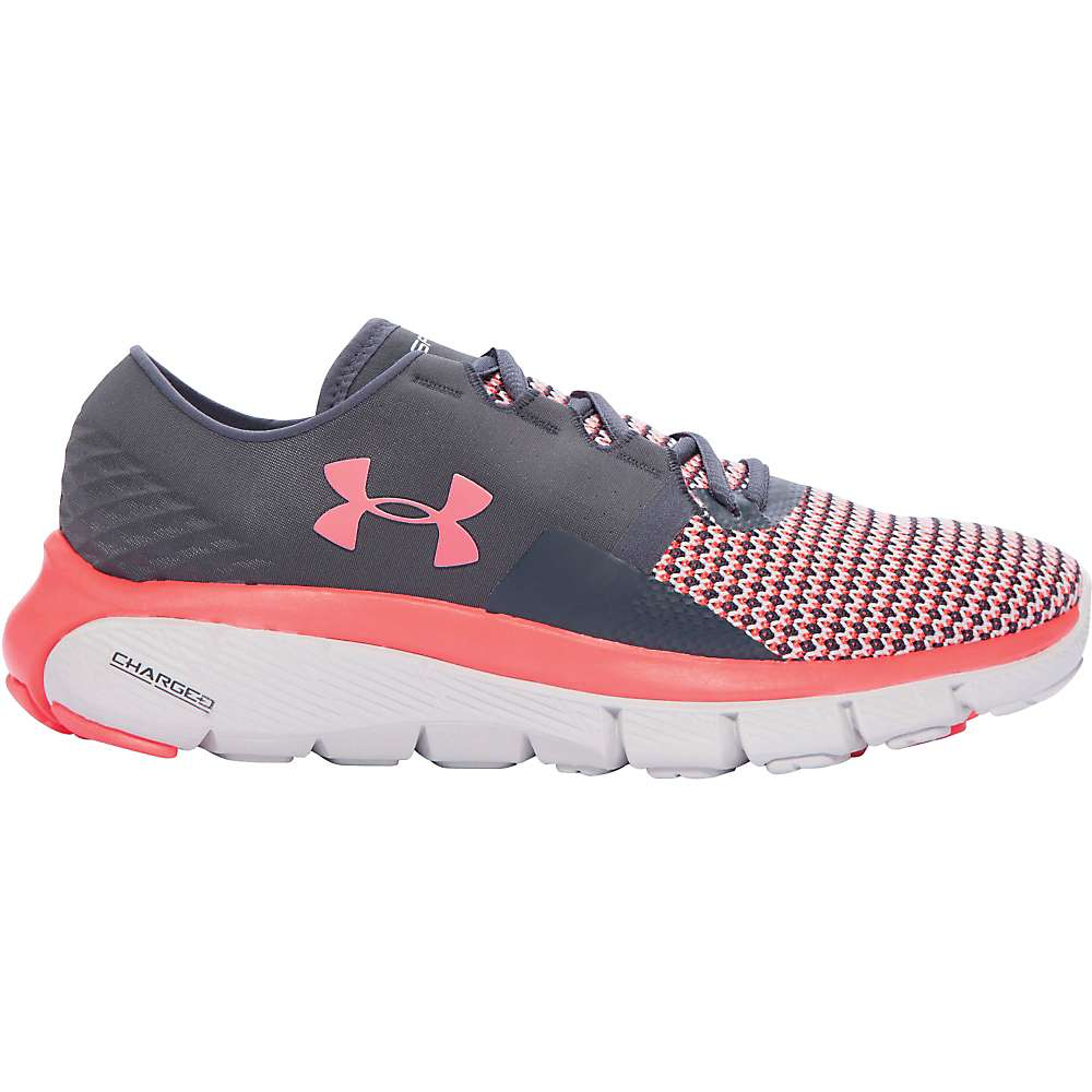 Under Armour Women's UA Speedform Fortis 2 Shoe - 7.5 - Stealth Gray / Glacier Gray / Stealth Gray
