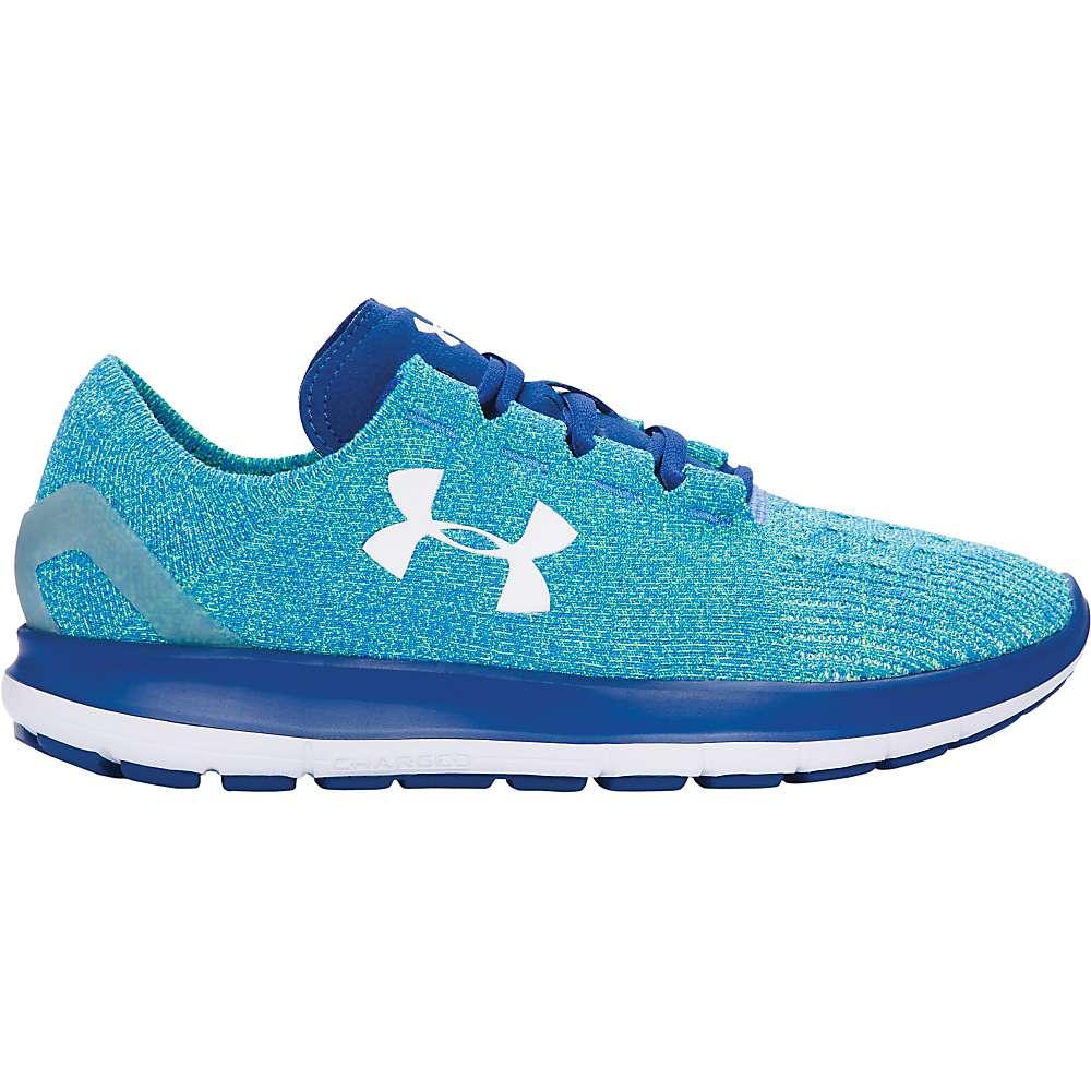 Under Armour Women's UA Speedform Slingride Shoe - 8.5 - Water / Heron / White