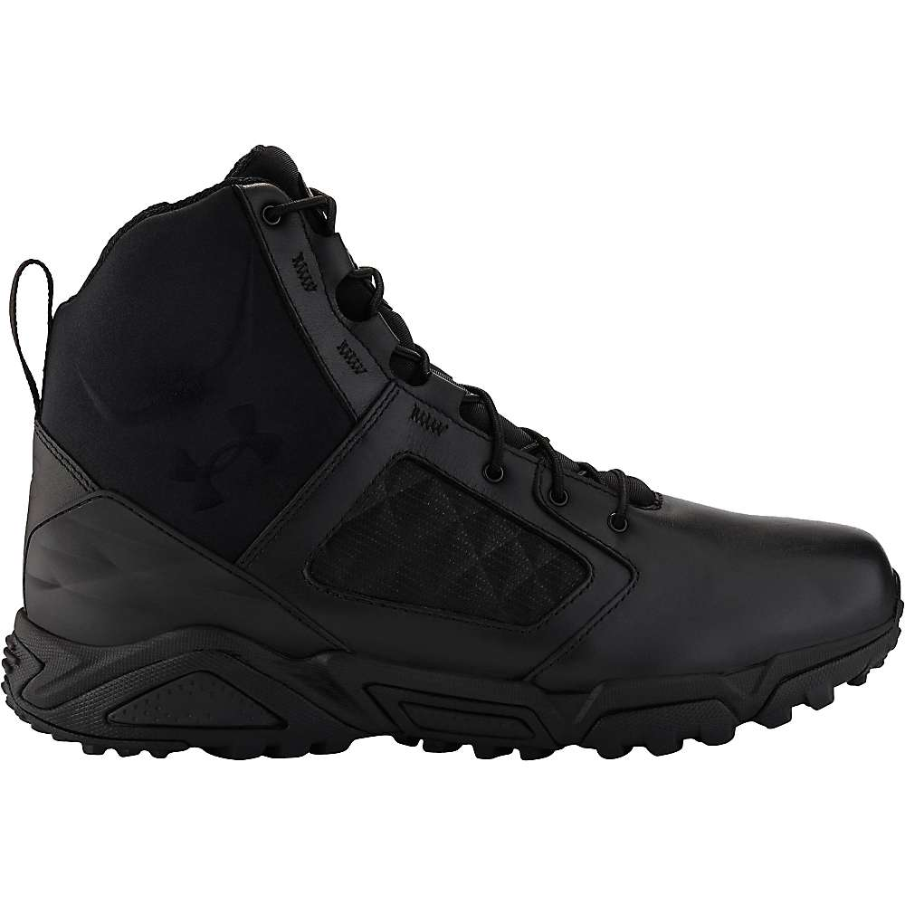 Under Armour Men's UA TAC Zip 2.0 Boot - 8 - Black / Black / Black
