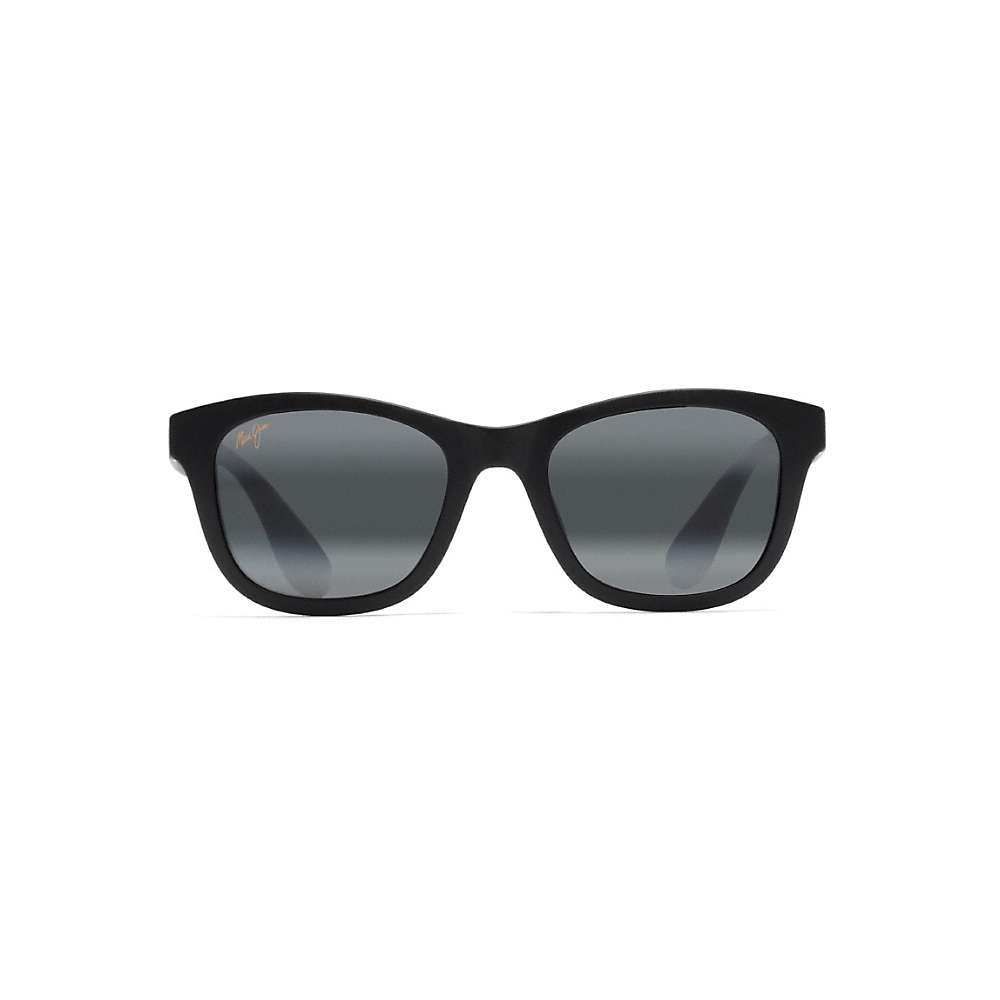 Maui Jim Hana Bay Polarized Sunglasses - One Size - Matte Black / Neutral Grey