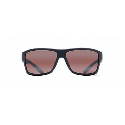 Maui Jim Pohaku Polarized Sunglasses - Matte Blue / Maui Rose