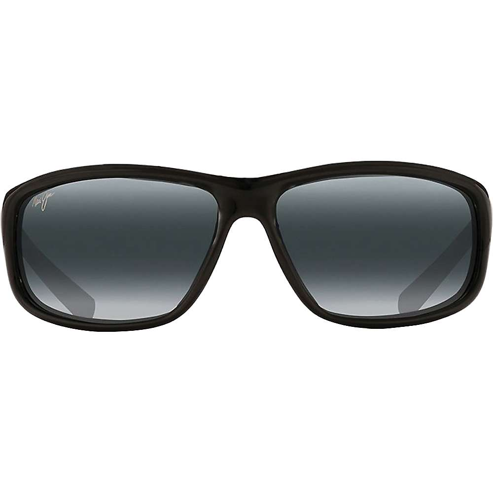 Maui Jim Spartan Reef Polarized Sunglasses - One Size - Gloss Black / Neutral Grey