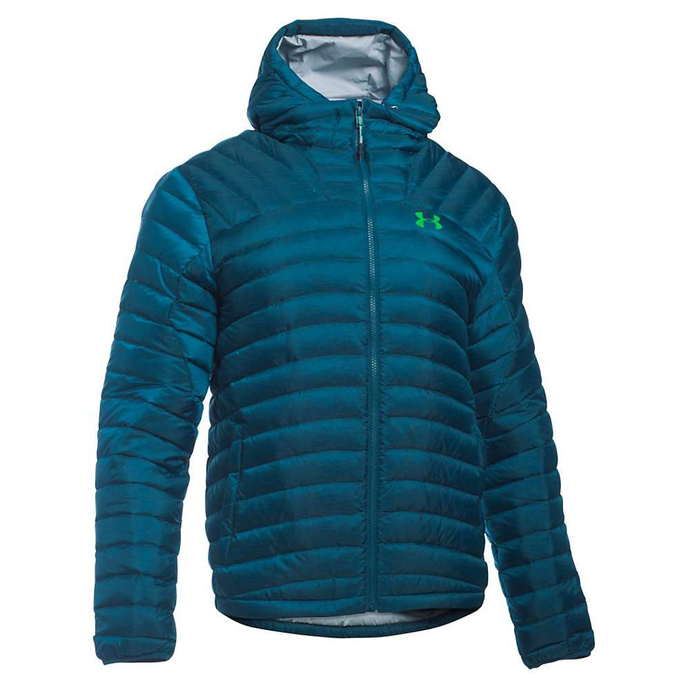 Under Armour Men's UA Four Pines Down Jacket - XL - Nova Teal / Overcast Grey / Northern Lights