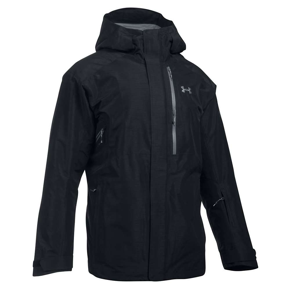Under Armour Men's UA ColdGear Infrared Revy Insulated Jacket - XL - Black / Overcast Grey / Stealth Grey