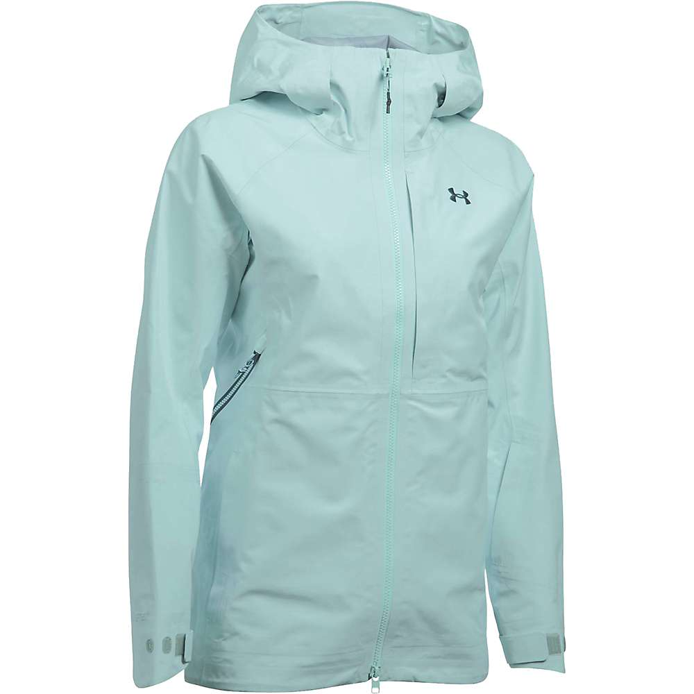 Under Armour Women's UA Chugach GTX Jacket - XL - Aqua Falls / Opal Green / Nova Teal