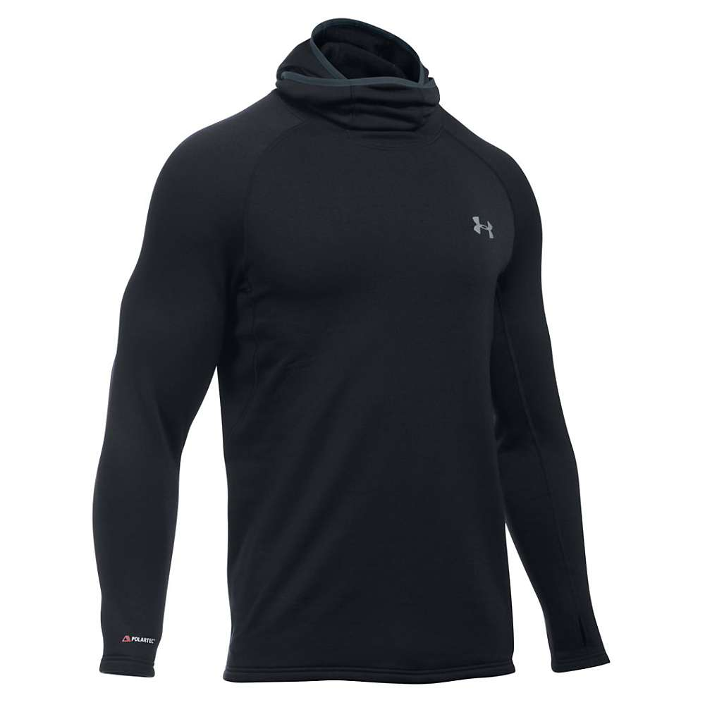 Under Armour Men's UA Fantom Hoodie - Medium - Black / Stealth Grey / Steel