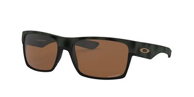 Oakley Two Face Machinest Collection Sunglasses - One Size - Olive Camo / PRIZM Tungsten