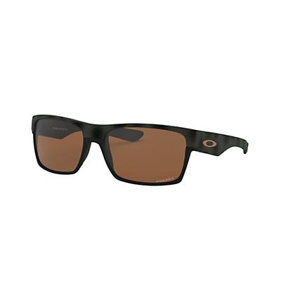 Oakley Two Face Machinist Collection Sunglasses - Olive Camo / PRIZM Tungsten