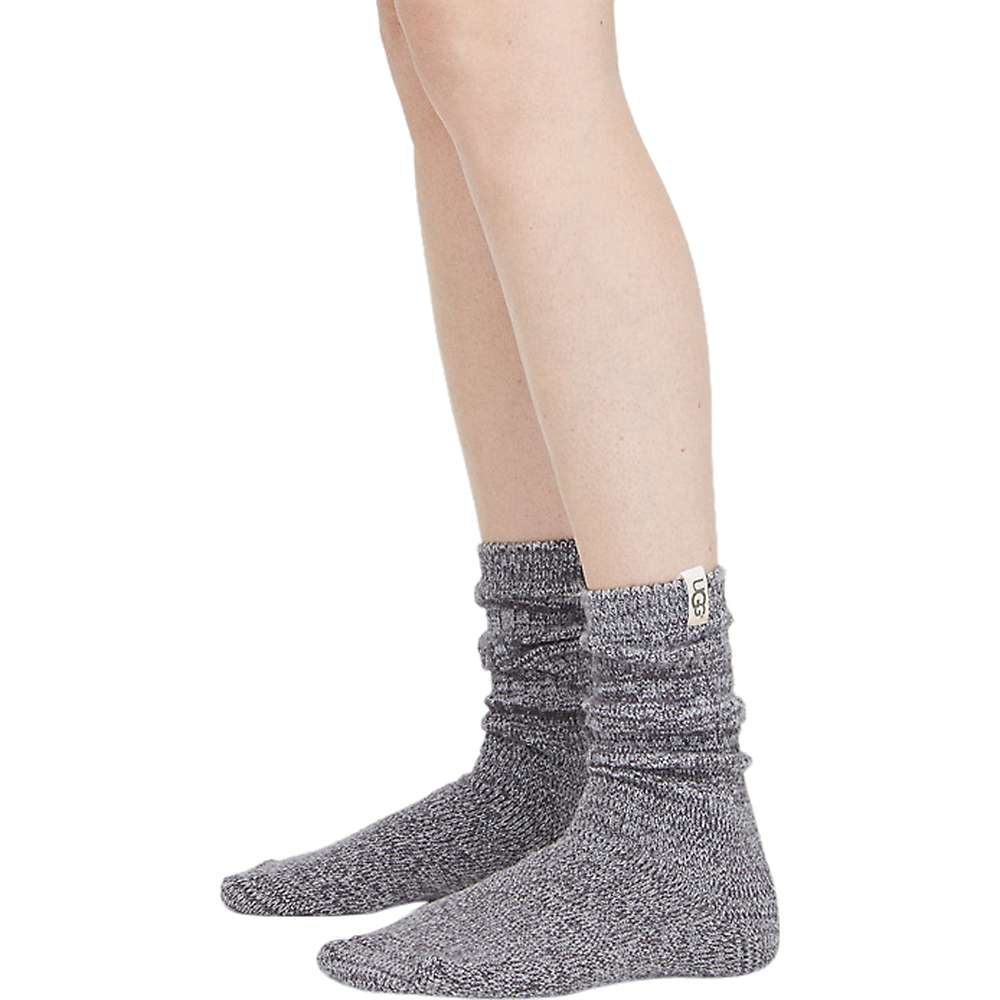 Ugg Women's Rib Knit Slouchy Crew Sock - One Size - Nightfall