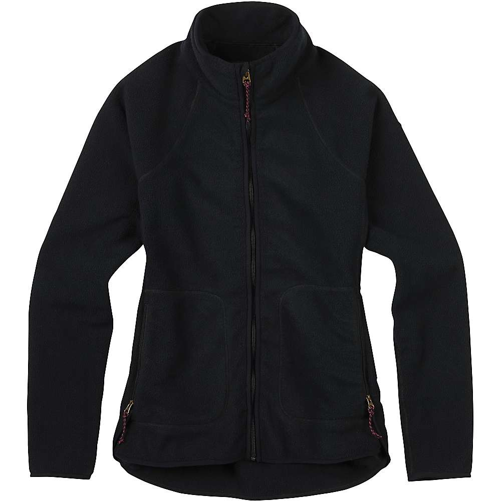 Burton Women's Lira Full-Zip Fleece Jacket - Large - True Black