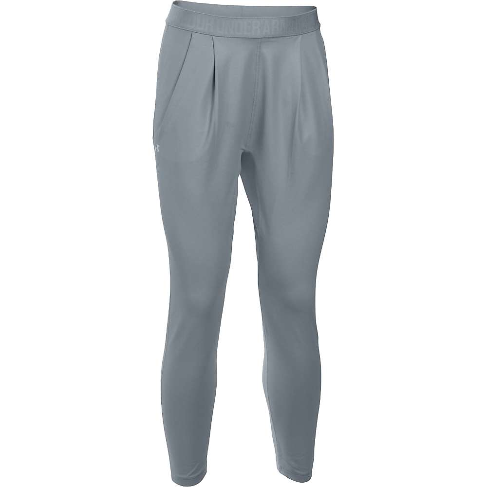 Under Armour Women's City Hopper Harem Pant - Small - Steel / Aluminum