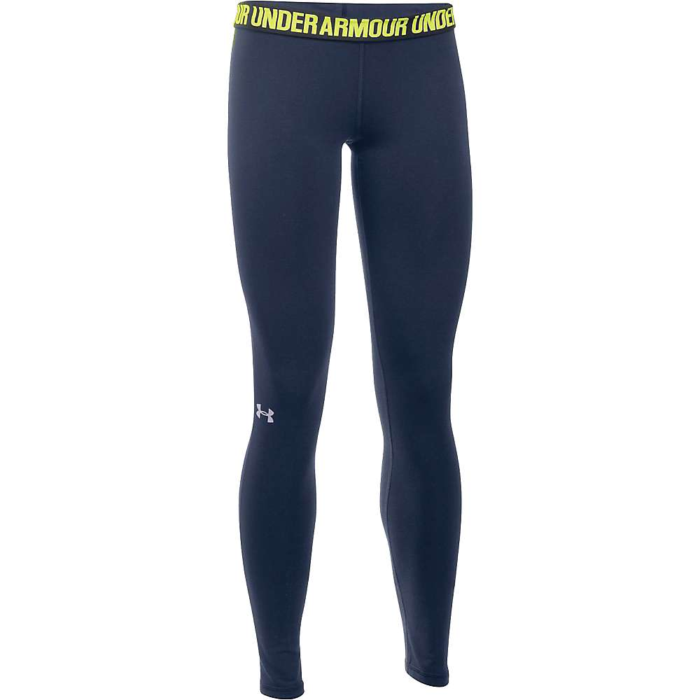 Under Armour Women's UA Favorite Solid Legging - XL - Midnight Navy / Black / Steel