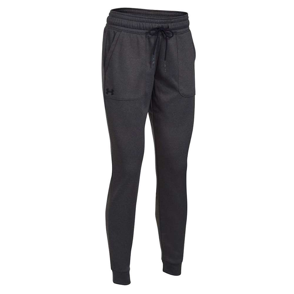 Under Armour Women's Lightweight Storm Armour Fleece Jogger Pant - XS - Carbon Heather / Black / Black