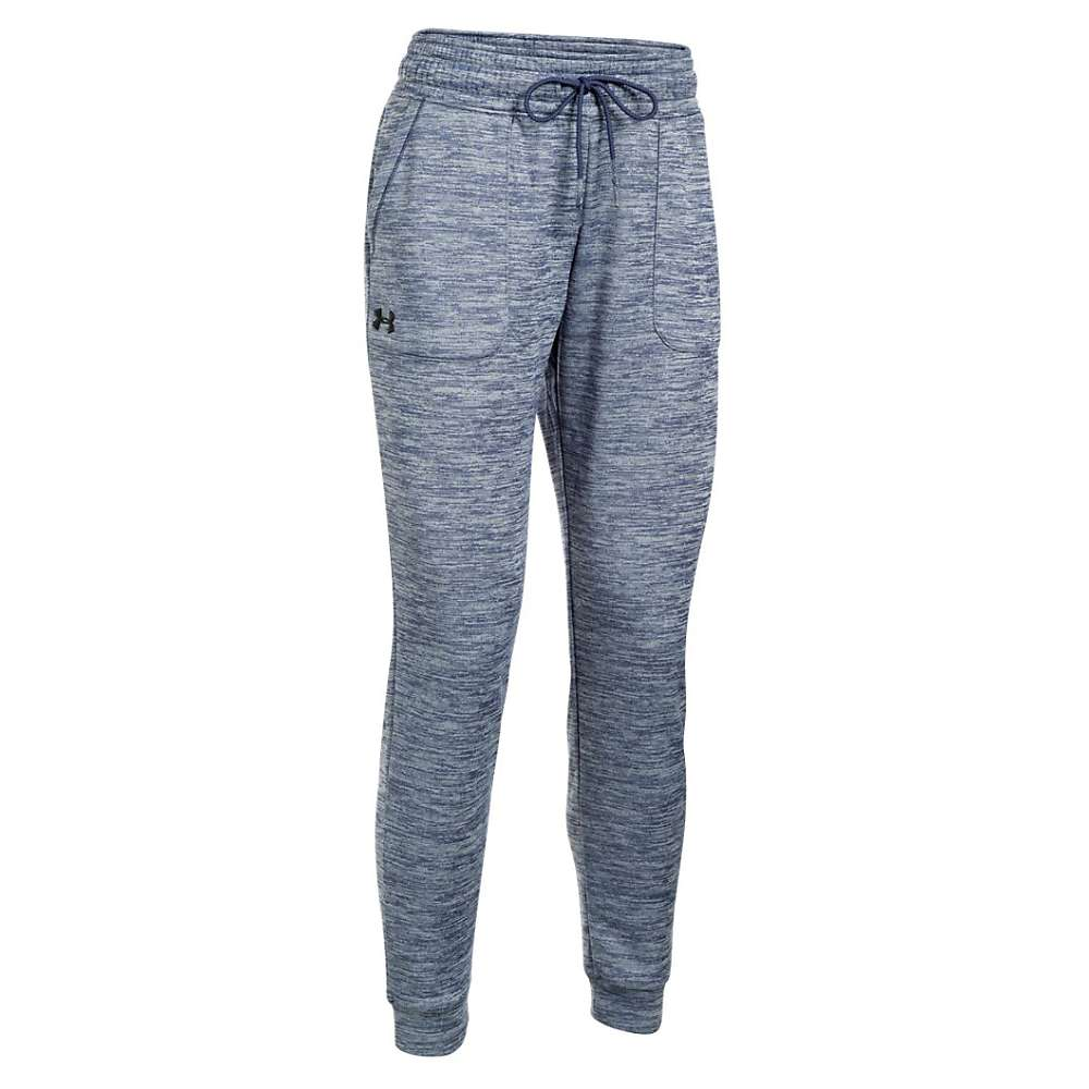 Under Armour Women's Lightweight Storm Armour Fleece Twist Jogger Pant - XS - Faded Ink / Faded Ink / Black