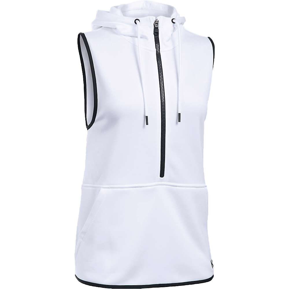 Under Armour Women's Lightweight Storm Armour Fleece Vest - Small - White / Black / Black