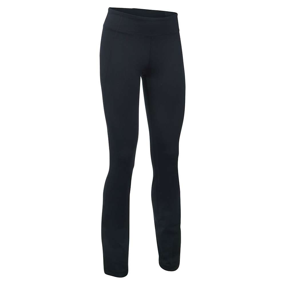 Under Armour Women's Mirror Straight Leg Pant - XS - Black / Silver