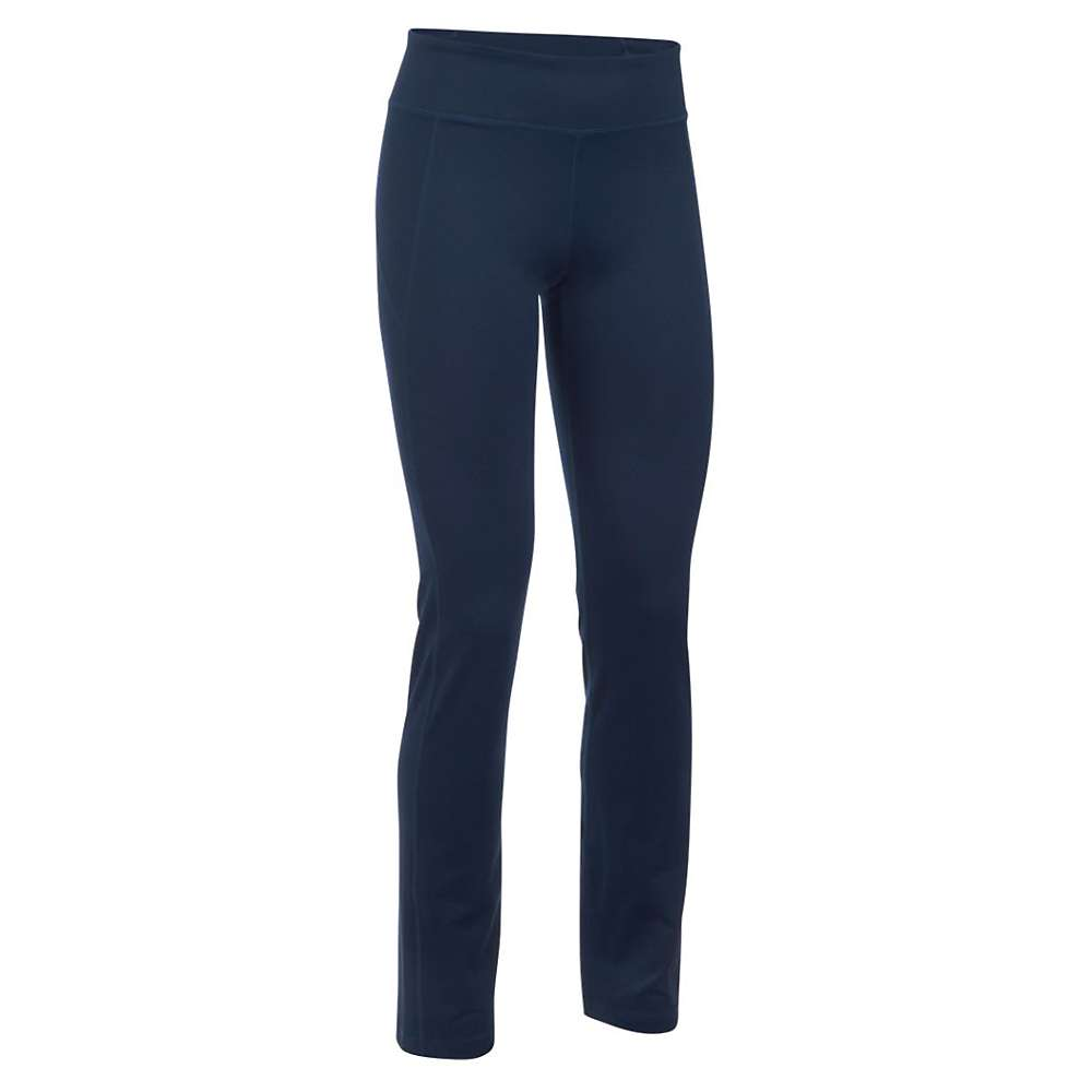 Under Armour Women's Mirror Straight Leg Pant - XS - Navy Seal / Silver