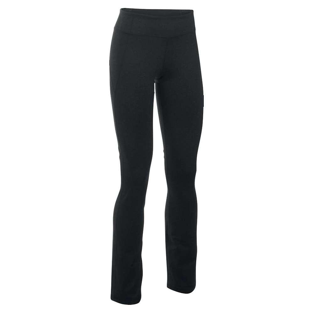 Under Armour Women's Mirror Straight Leg Pant - Small - Asphalt Heather / Silver