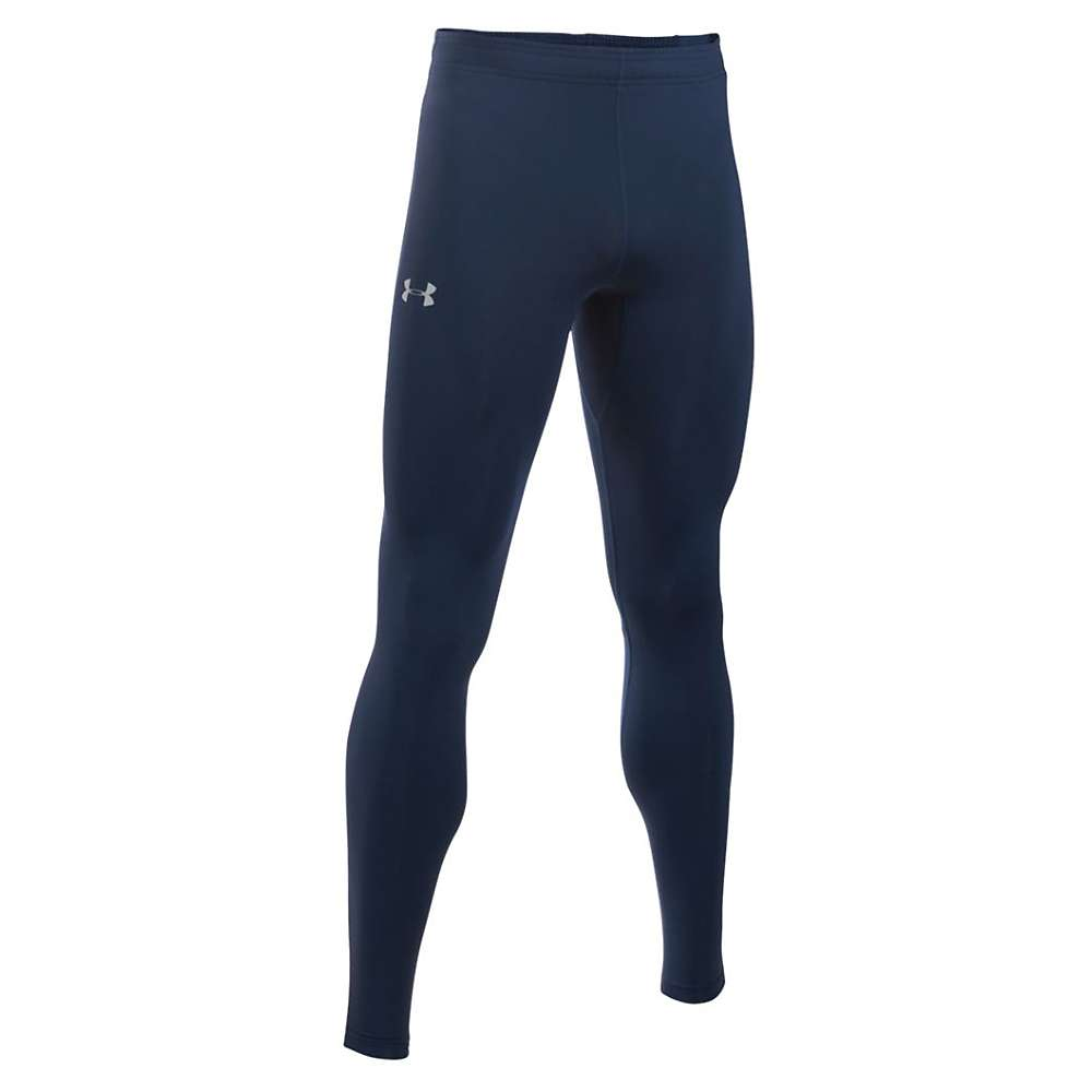 Under Armour Men's NoBreaks HeatGear Tight - Medium - Midnight Navy / Midnight Navy / Reflective
