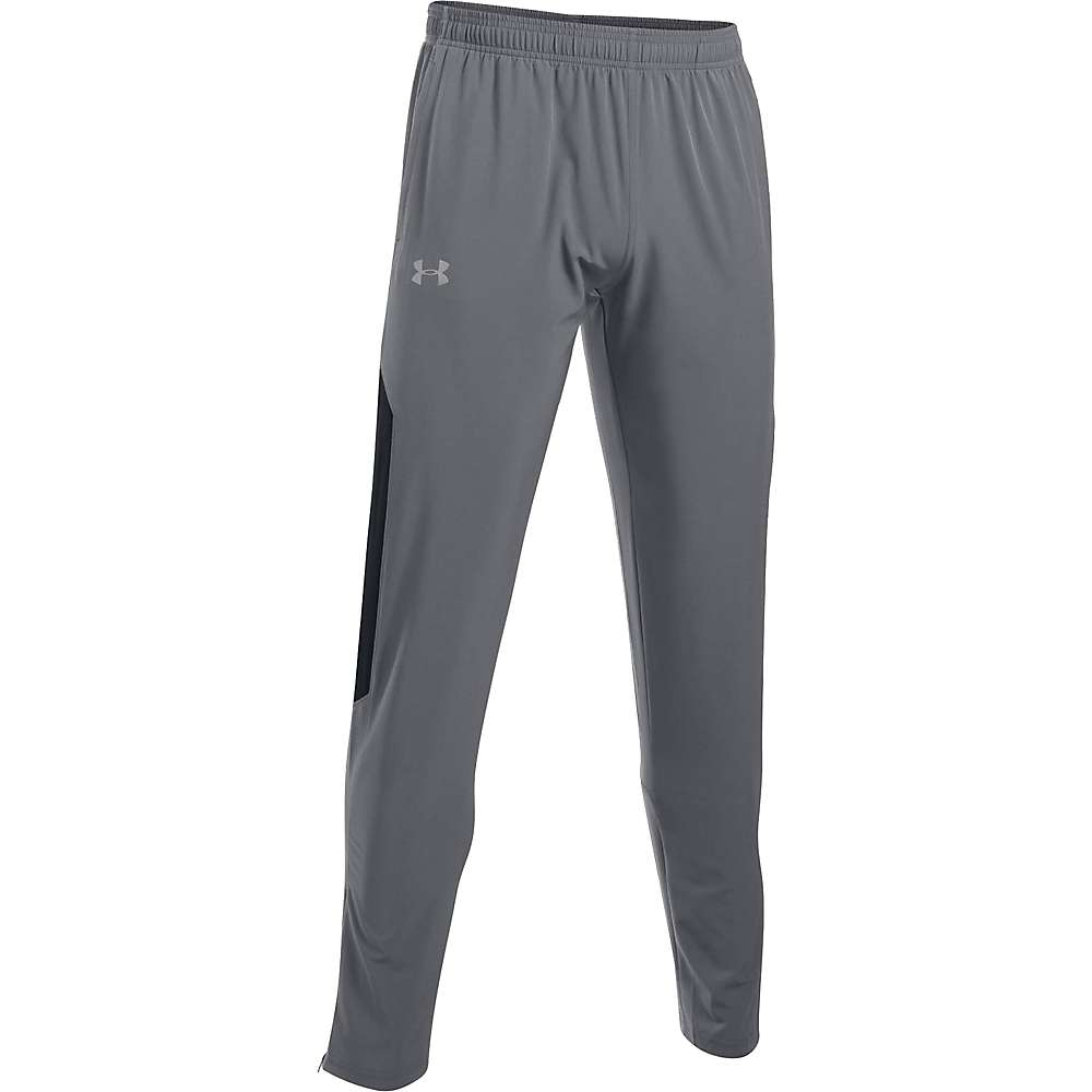 Under Armour Men's NoBreaks SW Tapered Pant - Large - Graphite / Black / Reflective