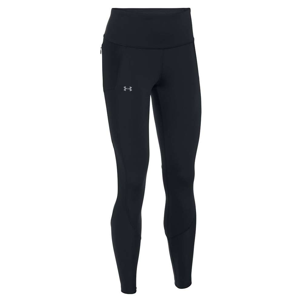 Under Armour Women's Run True Legging - XL - Black / Black / Reflective