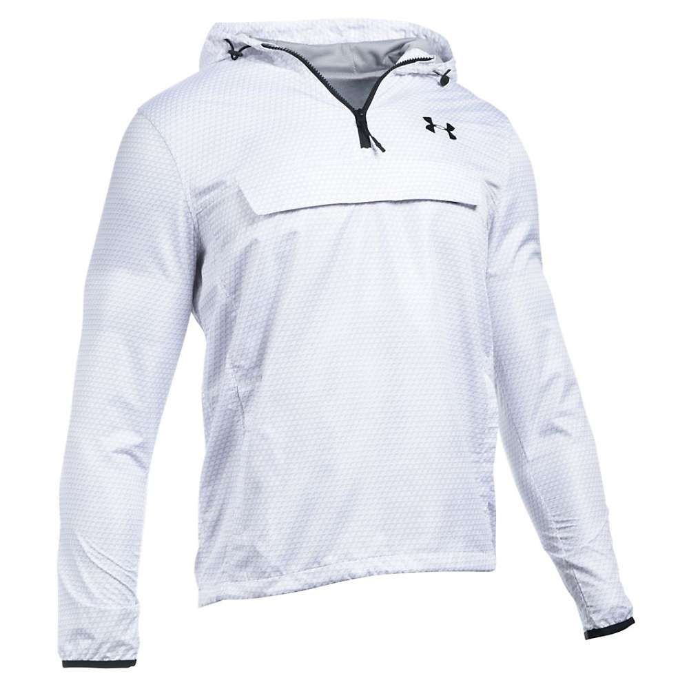 Under Armour Men's Sportstyle Anorak Jacket - Small - White / White / Black