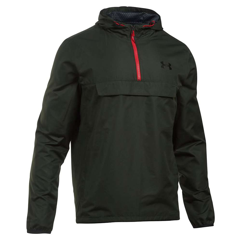 Under Armour Men's Sportstyle Anorak Jacket - Large - Artillery Green / Artillery Green / Black