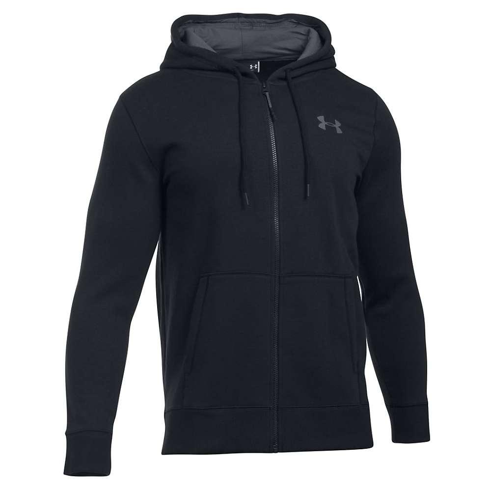 Under Armour Men's Storm Rival Cotton Full Zip Hoodie - Medium - Black / Graphite / Graphite